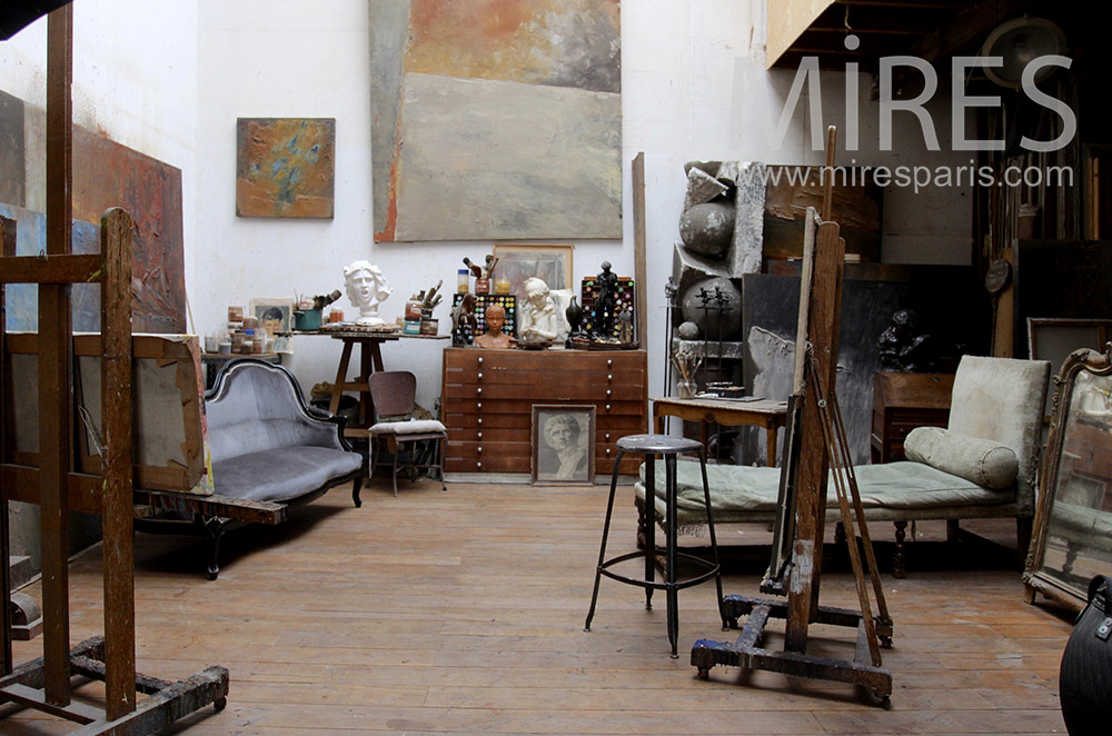 Salon artistique. C1535