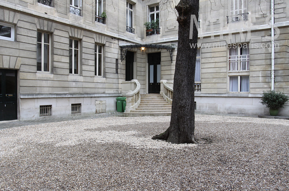 Cour centrale. C1538