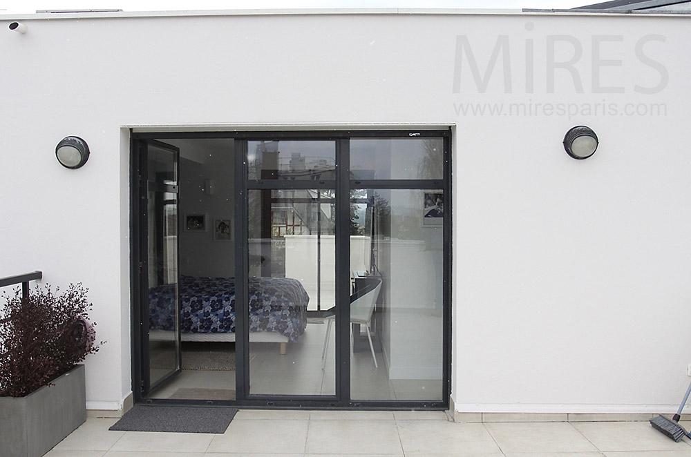 Chambre sur terrasse. C1543