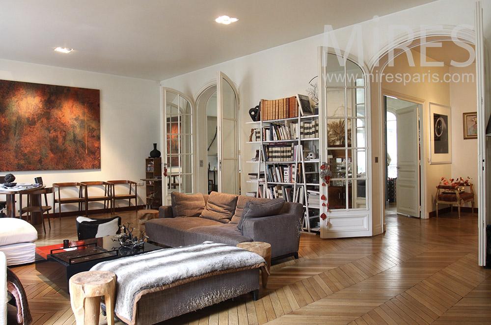 Appartement familial parisien. C1545