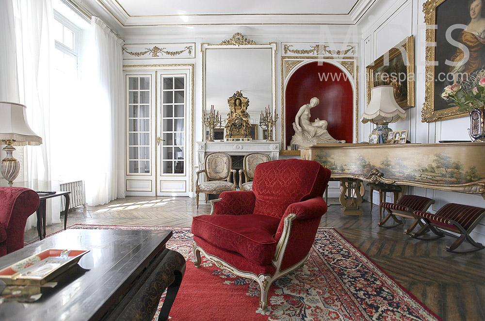 Salon rouge de clavecin. C1562