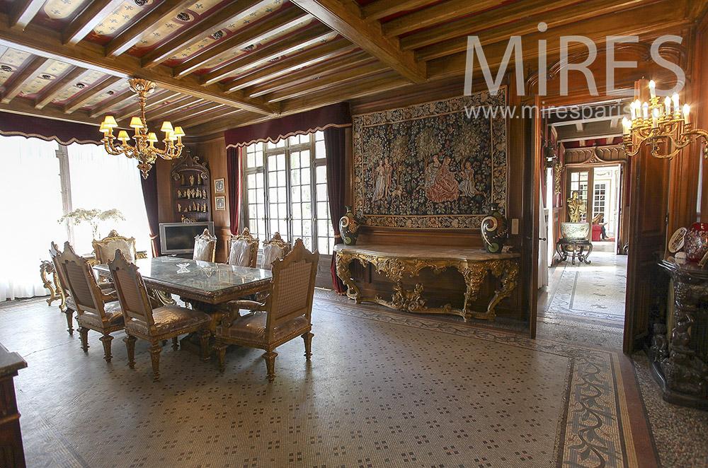 Grande Maison Bourgeoise C1562 Mires Paris