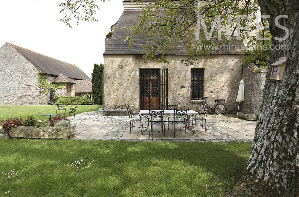 Jolies terrasses champêtres. C1565