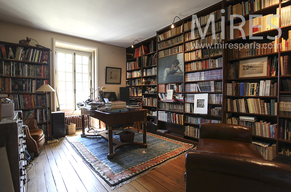 Library office. C1568