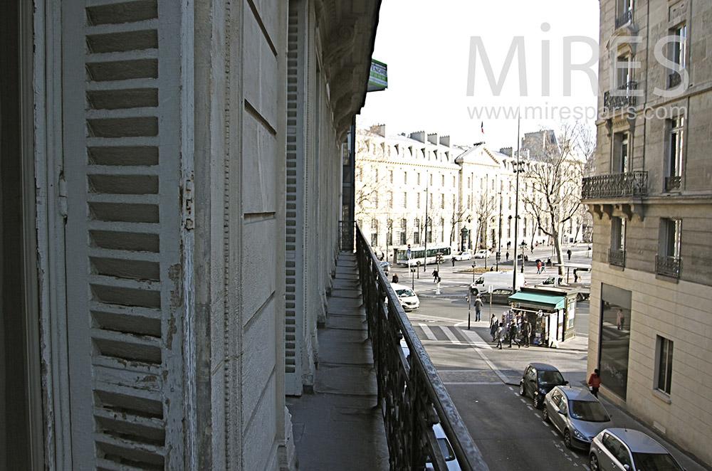 Balcony on Paris. C0101