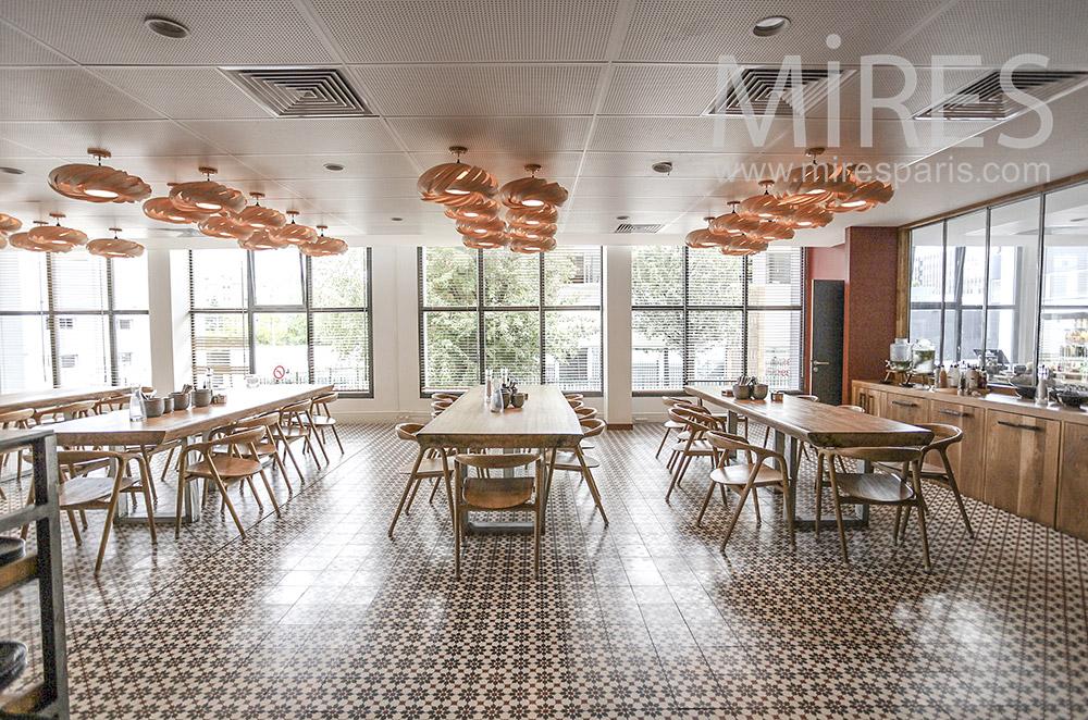 Corporate cafeteria. C1577