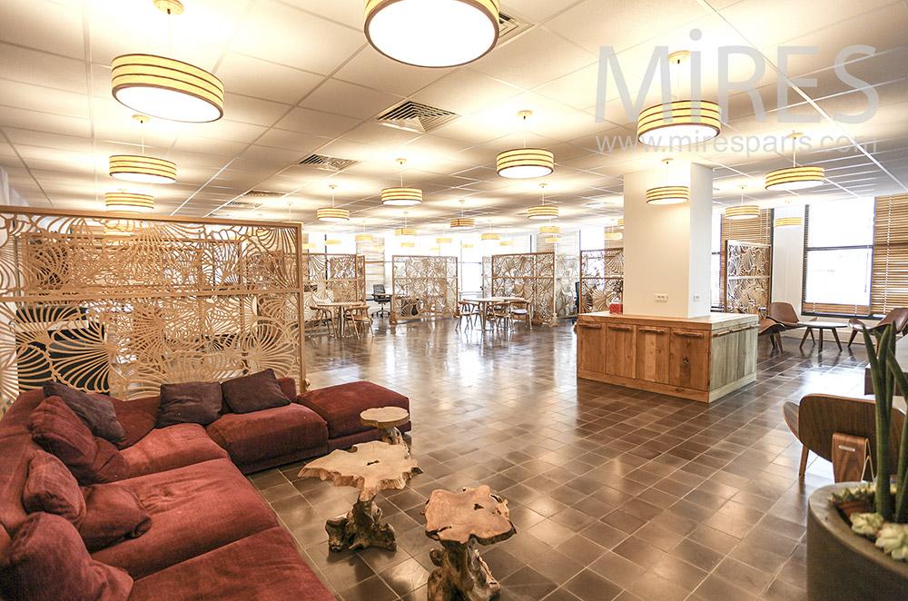 Cafeteria lounge. C1577