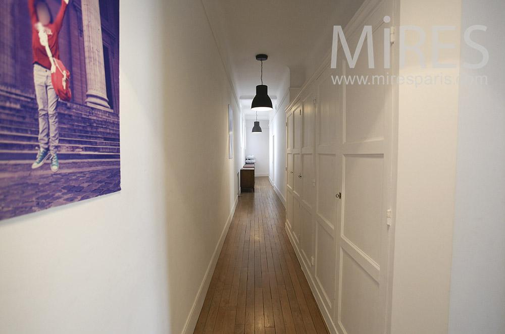 Couloirs étroits. C1578