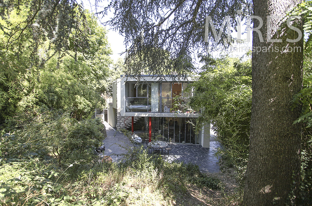 Architect house in nature. C0411