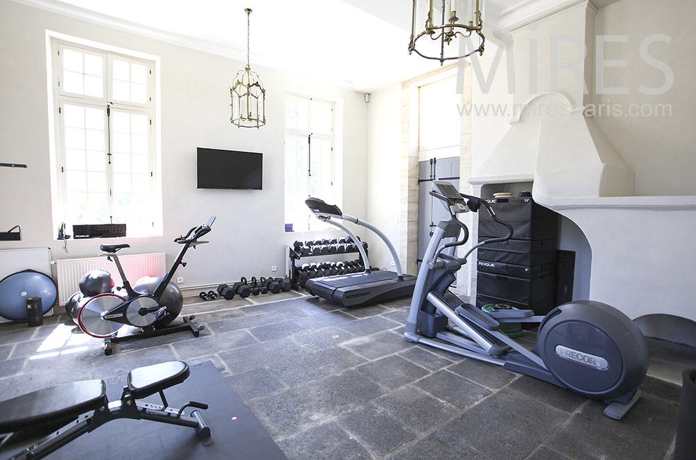 Salle de fitness. C1580
