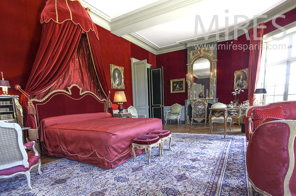 Red princely room. C1580