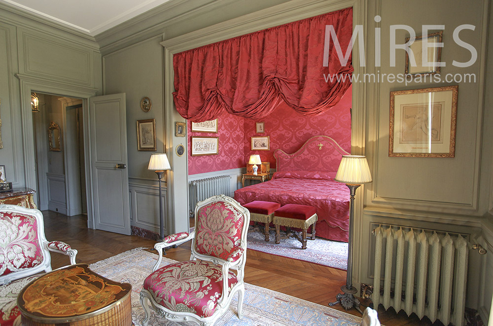 chambre en alc ve avec salon c1580 mires paris. Black Bedroom Furniture Sets. Home Design Ideas