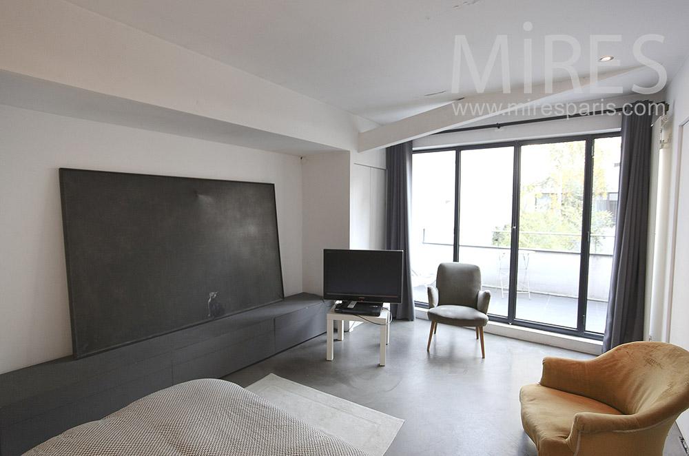 Chambre bicolore. C0096