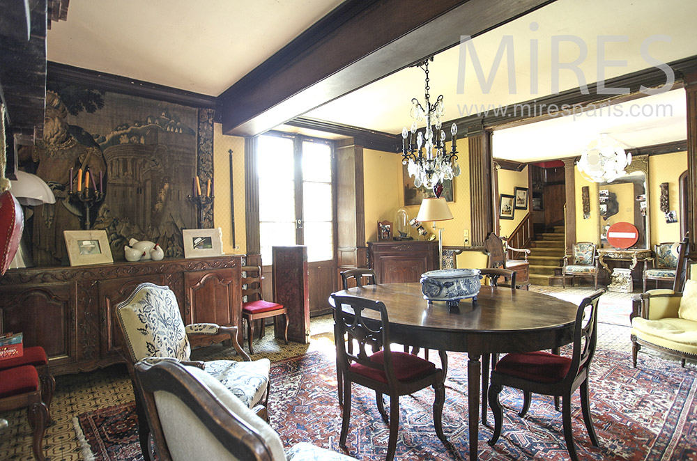 Old dining room. c1597