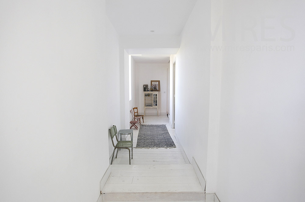 White corridors. C1603