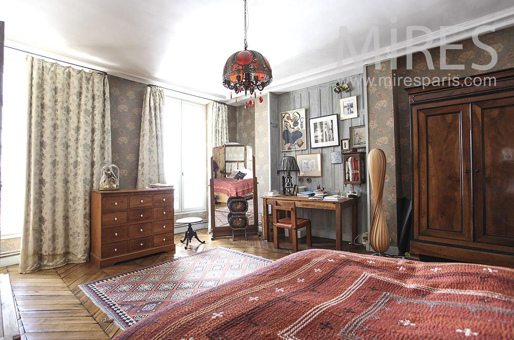 Chambre de style ethnique. C1607