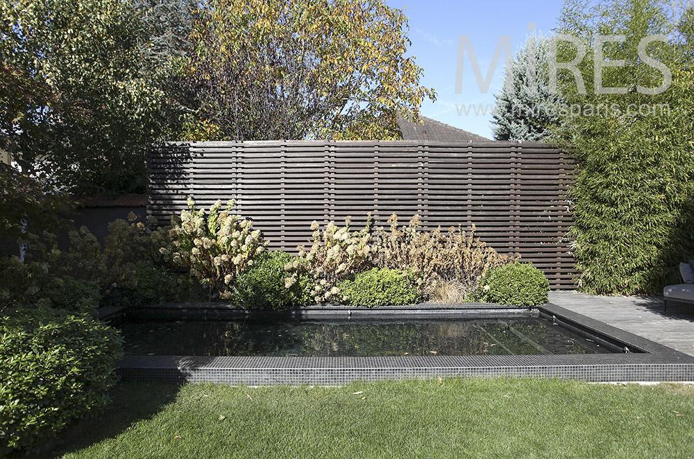 Jardin soigné. C1608