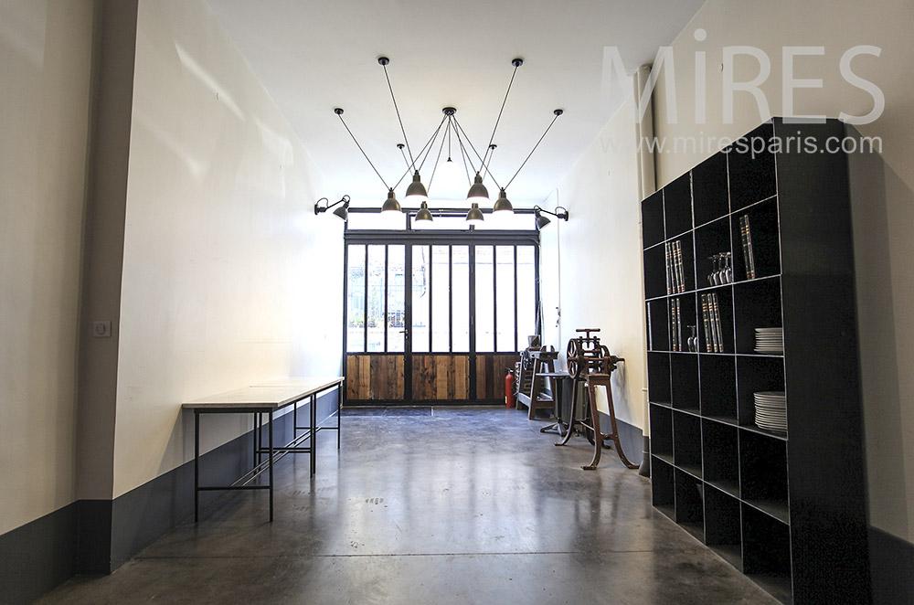 Workshop entrance. c0208
