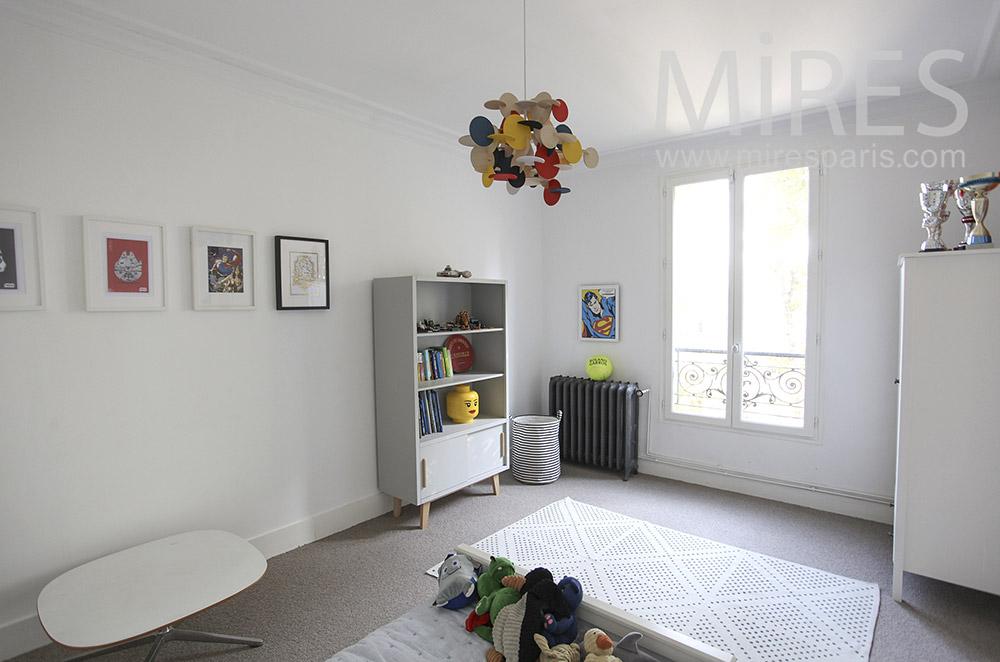 Sage chambre d'enfant. C1610