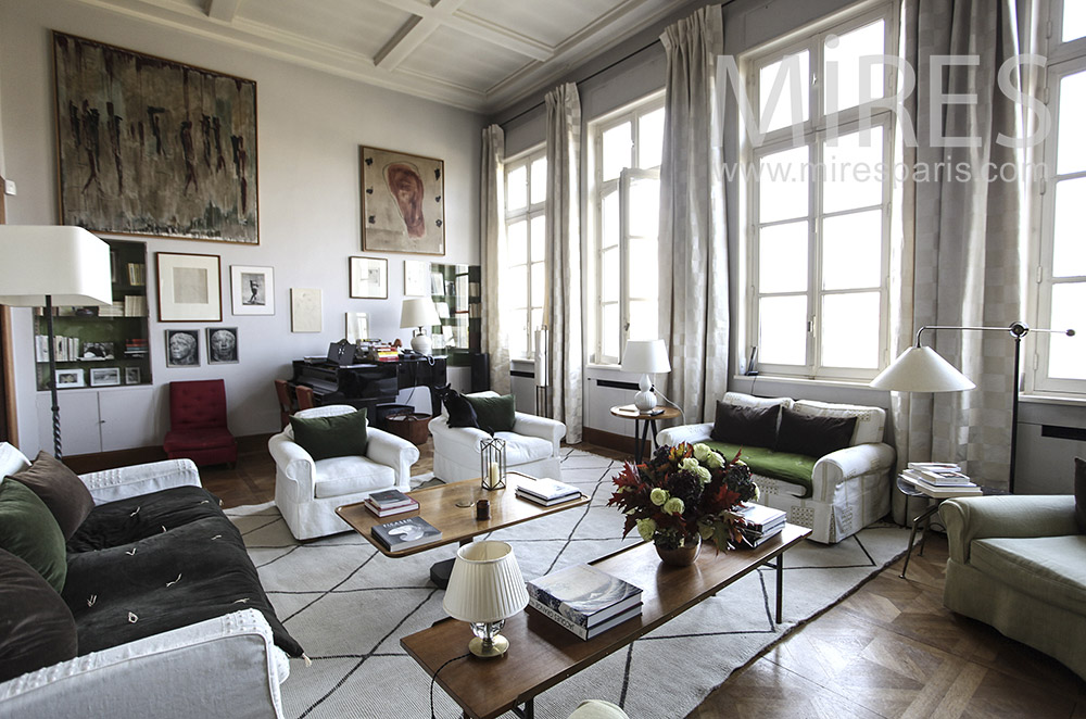 Exceptional apartment in the heart of Paris. C1613