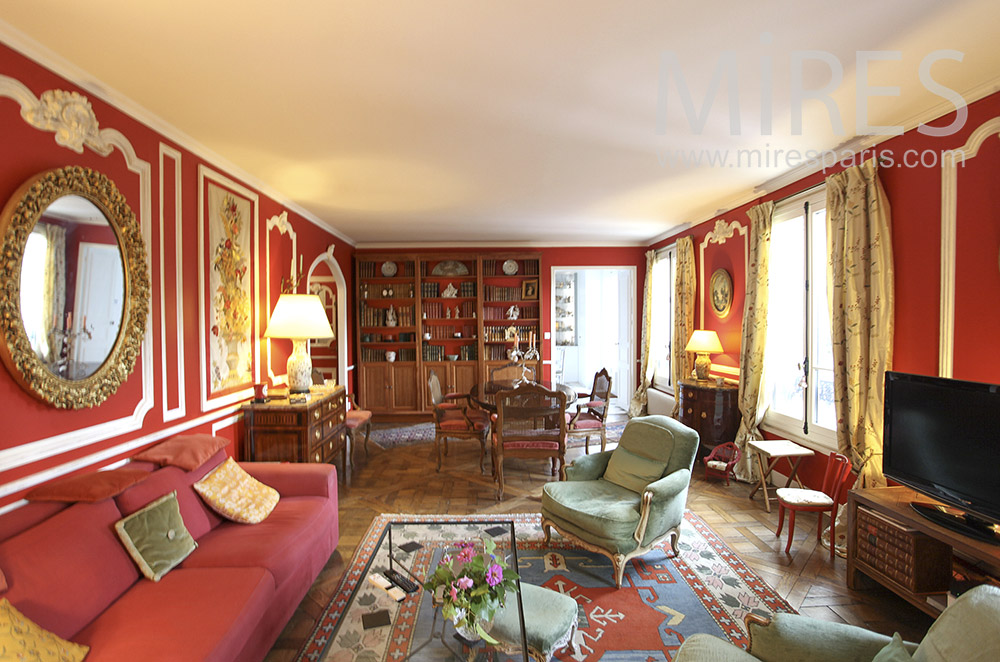 Appartement parisien. C1617
