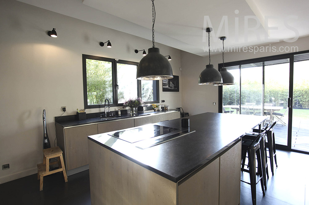 Modern kitchen on terrace. C1014