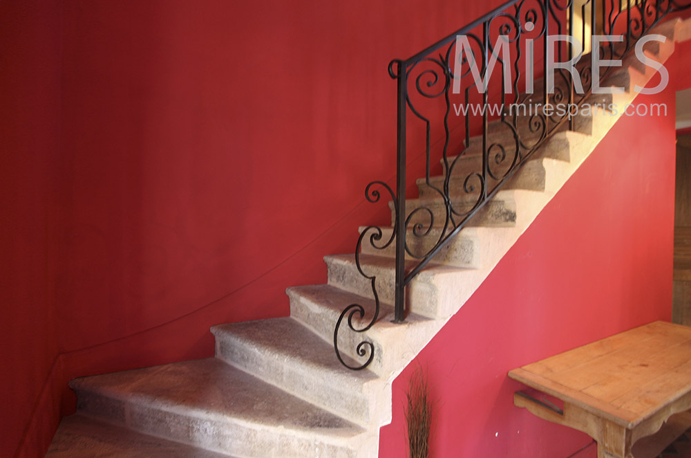 Red staircase. c1630