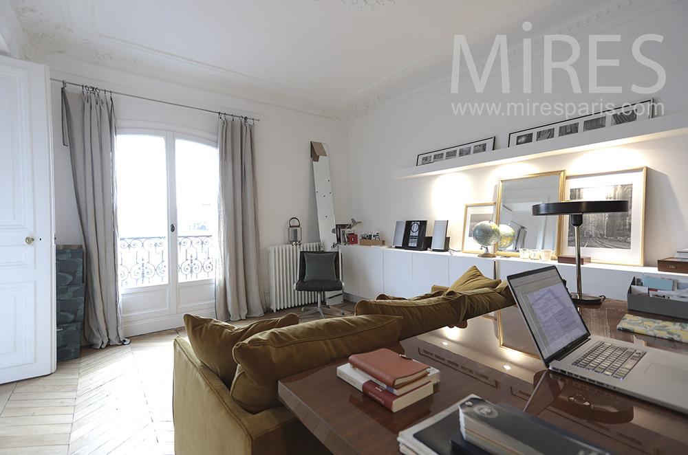 Elegant office. c1650