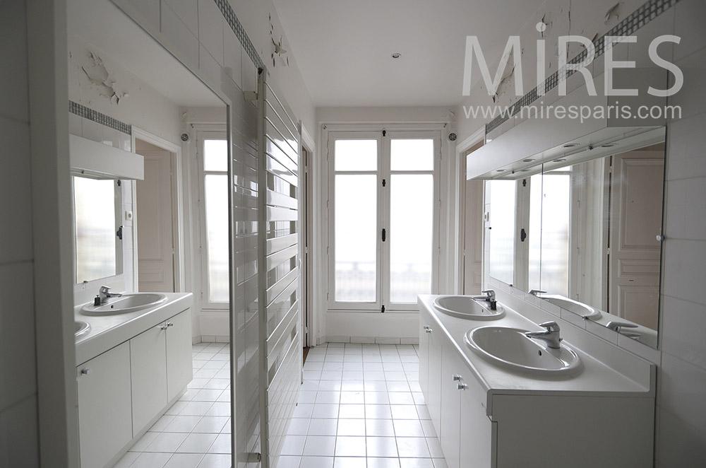 Double lavabo. C1655
