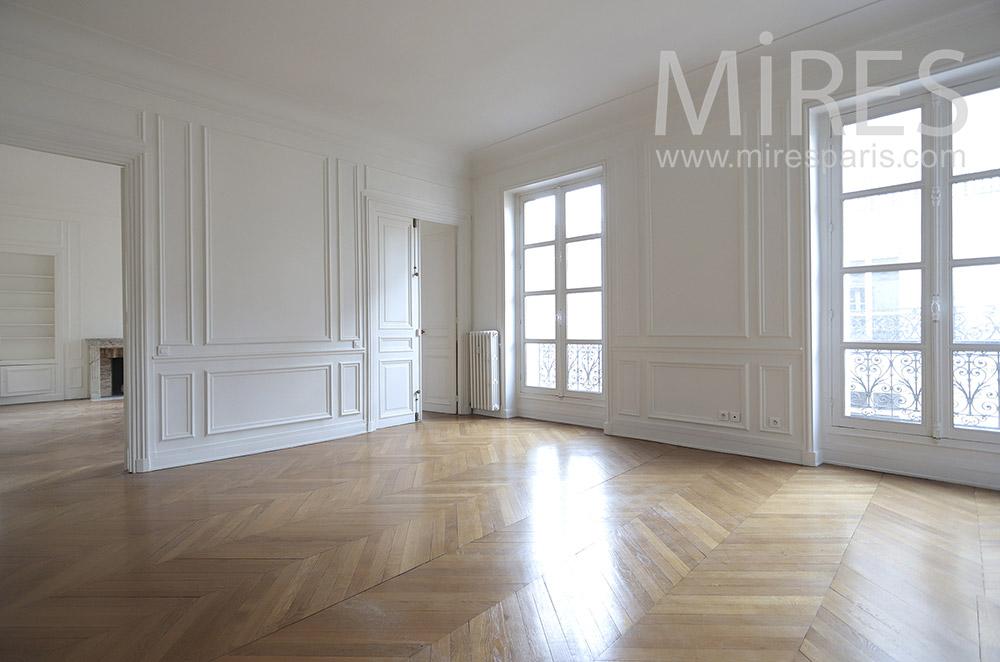 Parisian flat. C1662