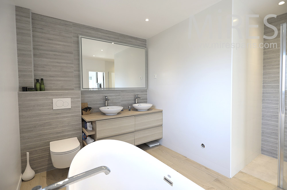 Modern baths. C1664