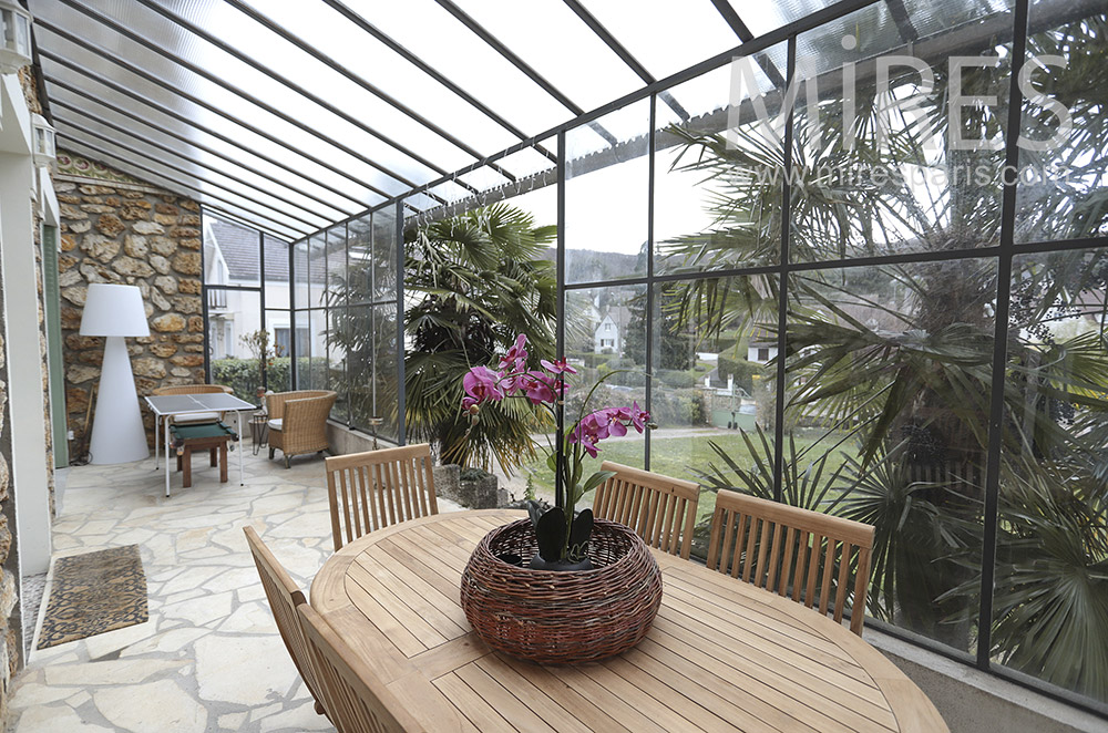Large veranda. C1679