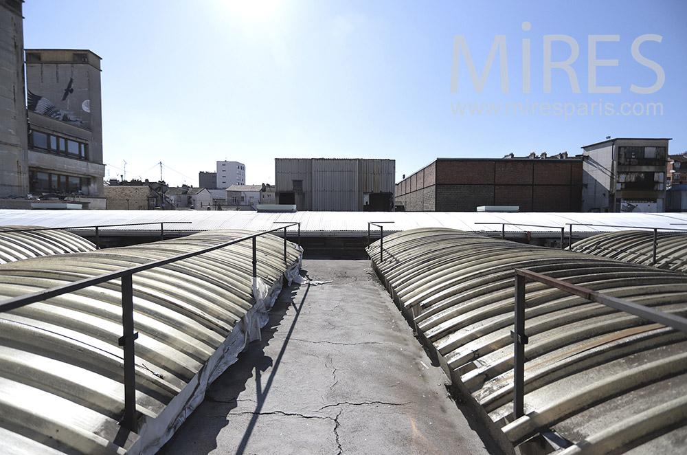 Industrial Rooftop. C1688