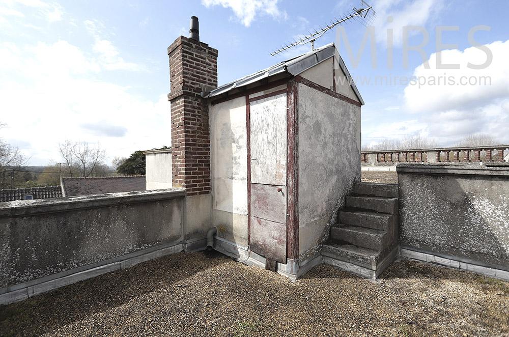 Rooftop. C1690