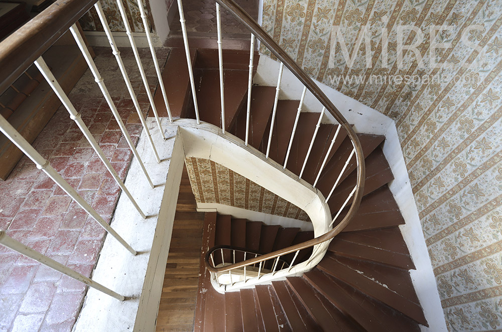 Patinated staircase. C1690