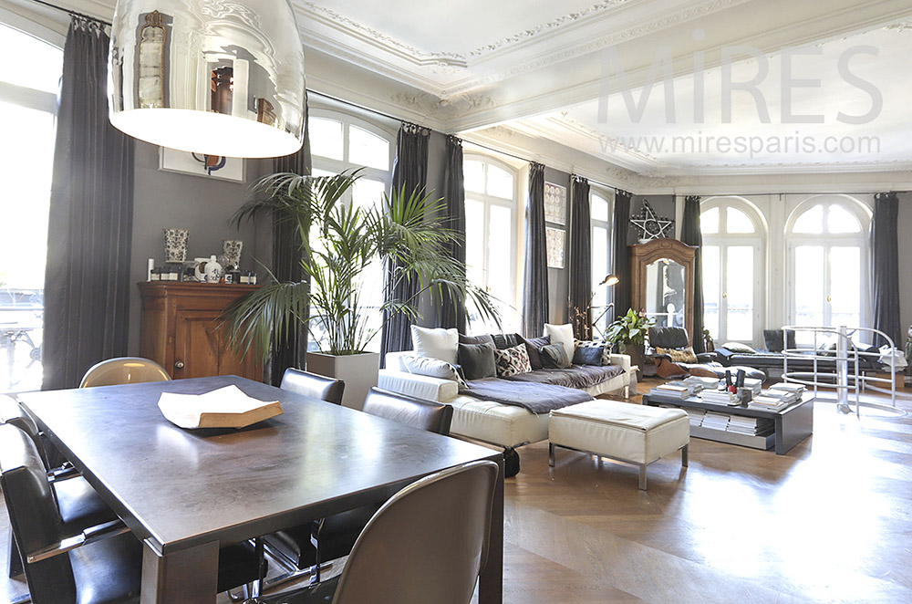 Parisian duplex apartment. C0068