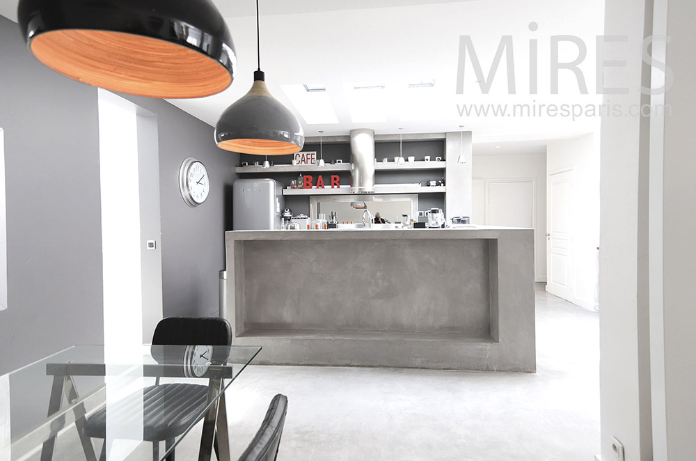 Modern bar kitchen. C0067