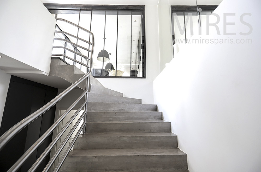 Beautiful staircase. C0067