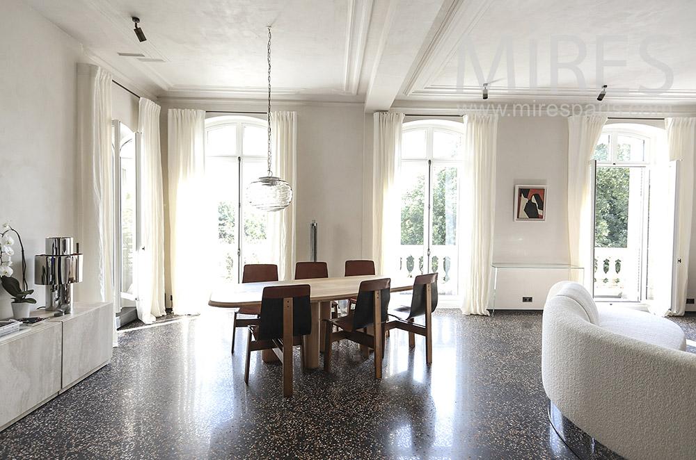 Bright dining room. c1708