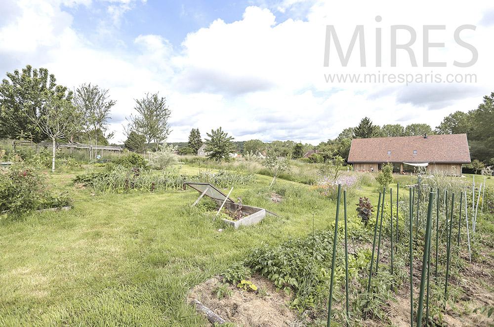 Vegetable garden. C1711