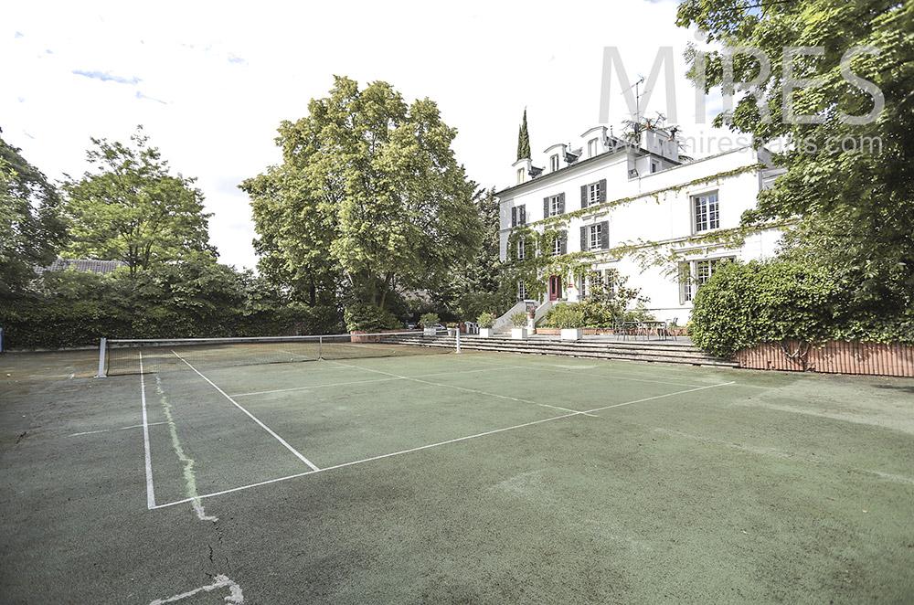 Tennis élégant. C1712