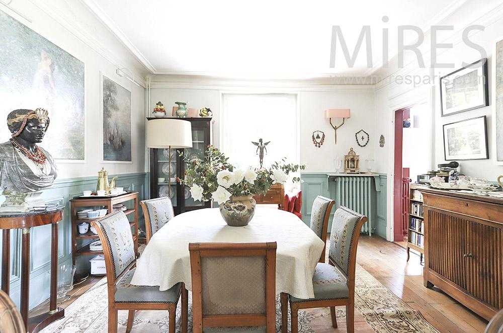 Classic dining room. c1712