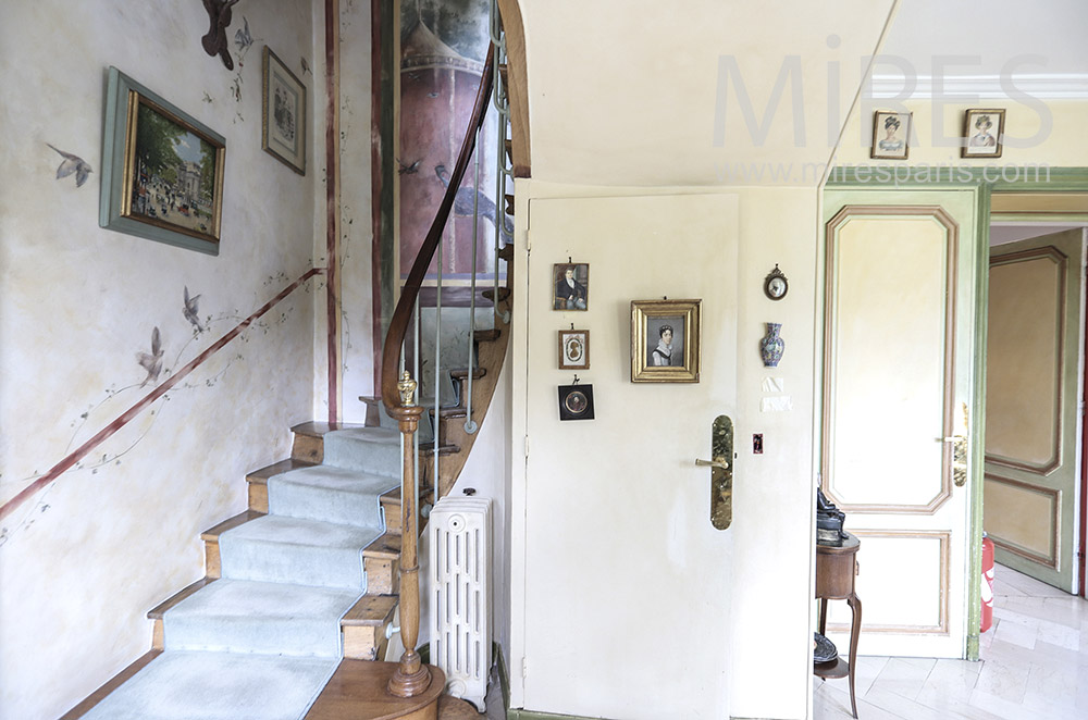Old staircase. c1712