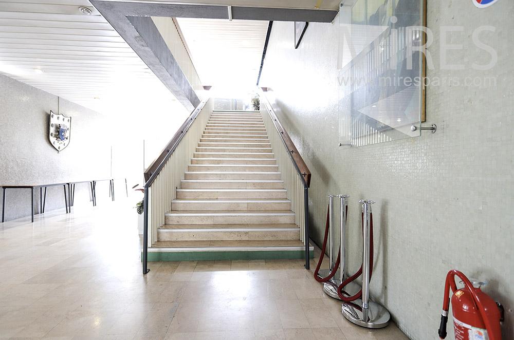 Escalier droit. C1714