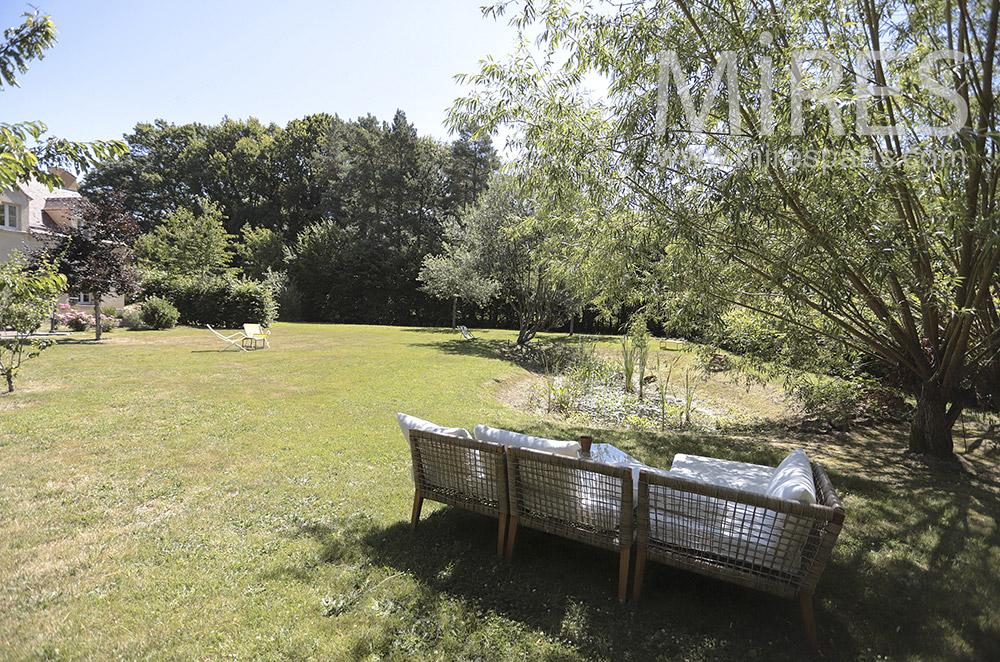 Fauteuil de jardin. C1726