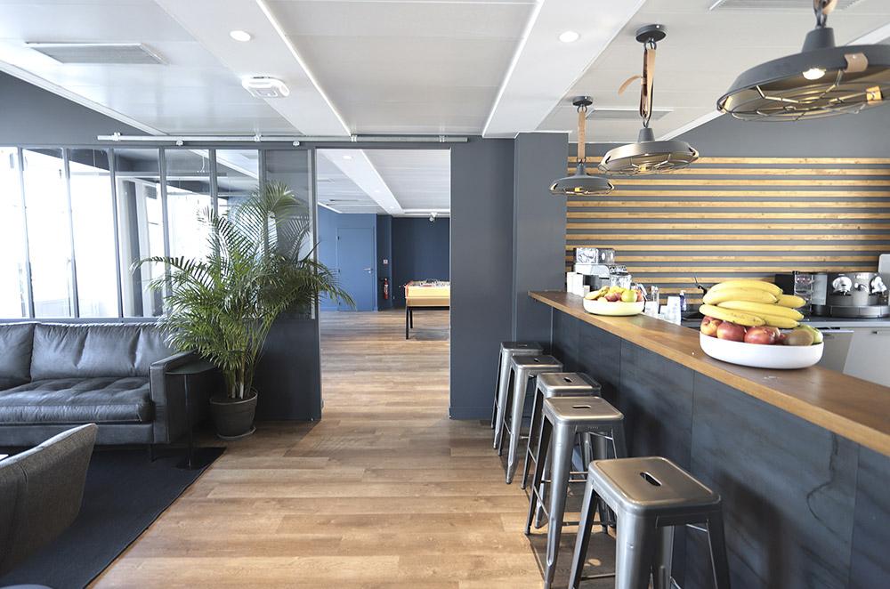 Cafétéria d'entreprise. C1730