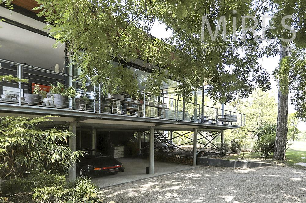 Maison d'architecte moderne. C0815 | Mires Paris