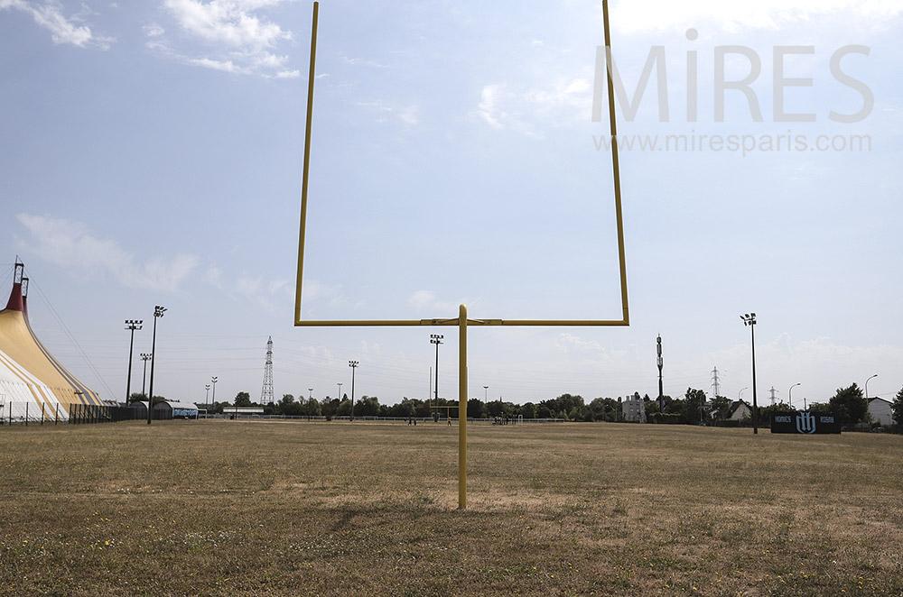Terrain de rugby. C1737