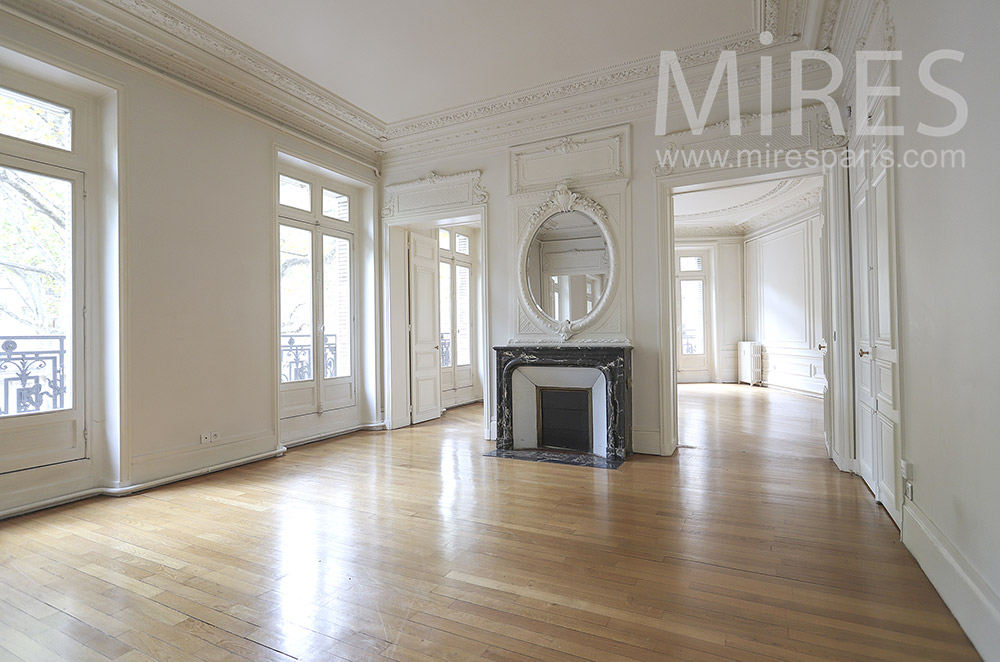 Renovated Haussmanian apartment. C1746