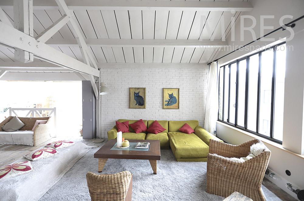 Deco lounge. C1745